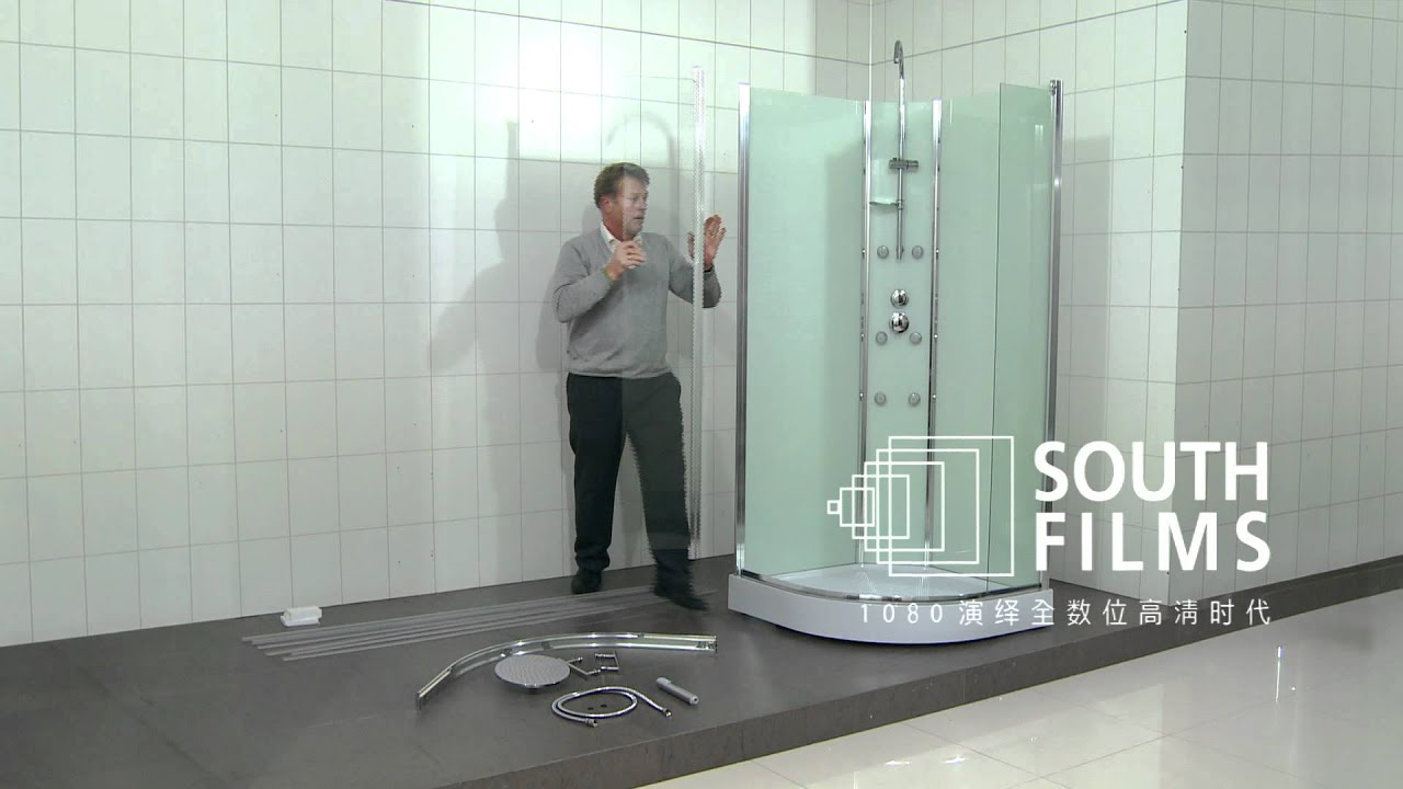 How to assemble a shower cabin 47