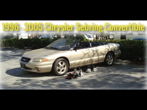 When To Replace Shocks And Struts >> 99-05 Chrysler Sebring Convertible How to Replace Front ...
