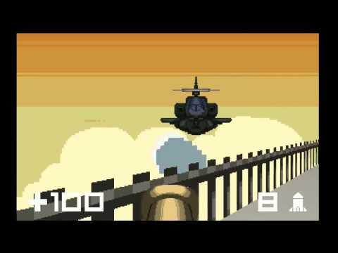 Gun Godz 4-3 Rooftop 100% (3 Triangles) Final Boss