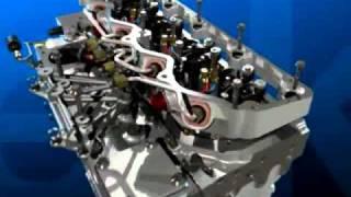 Работа дизельного двигателя 3