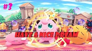 [Super Smash Bros] Ten un lindo sueño. Jigglypuff manda!