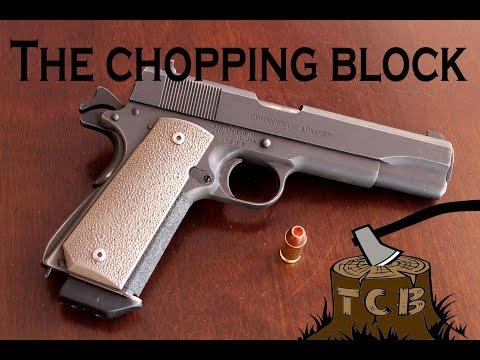 Can High-Tech Bullets Make .45 AARP Relevant? Prograde 185gr TAC-XP Gel Test ***DEMONETIZED***
