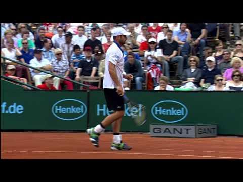 Berlocq Beats Roddick In Dusseldorf