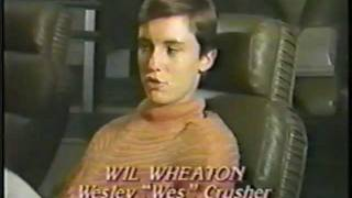 Wil Wheaton Star Trek The Next Generation Pre Air Interview