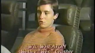 Wil Wheaton Star Trek The Next Generation Pre Air Interview