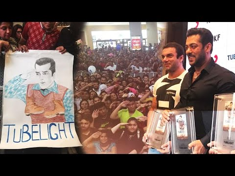 Salman Khan's Tubelight RADIO SONG Craze In Dubai