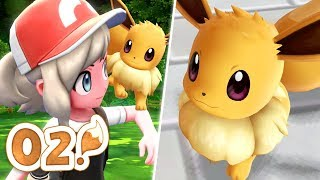 Pokémon Let's Go Eevee Let's Play - Part 02 | DRESS MY GIRL UP!