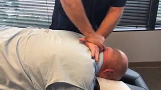 Your Houston Chiropractor Dr Gregory Johnson Adjust San Antonio Man For First Time