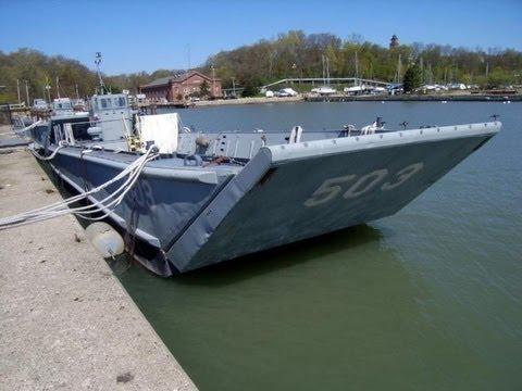 1974 marinette marine corp landing craft on govliquidation for Military landing craft for sale