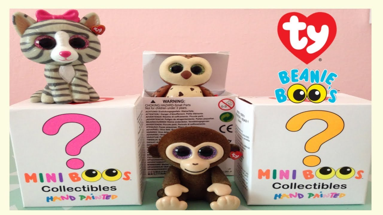 9861709d0eb New Mini Boos unboxing - Beanie boos Blind Box Suprise - YouTube