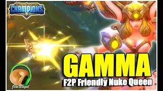 DUNGEON HUNTER CHAMPIONS: Gamma the Light Astromancer F2P-Friendly NUKE