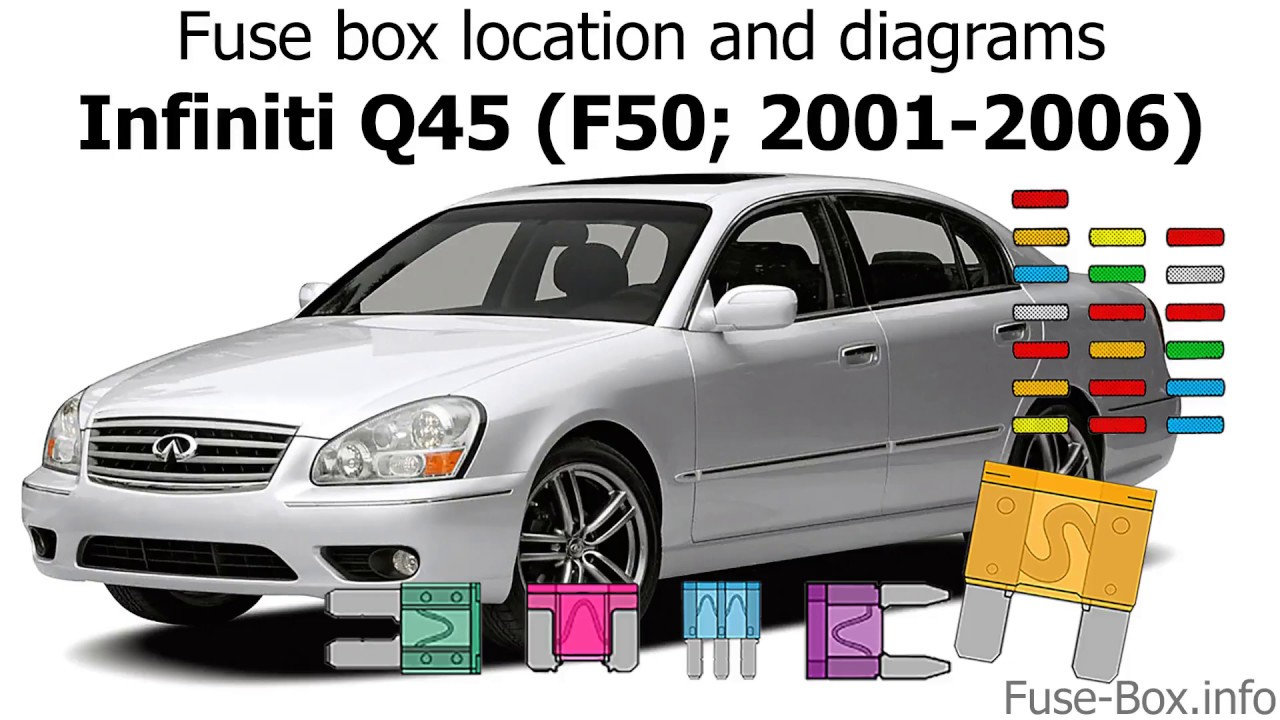 Fuse box location and diagrams: Infiniti Q45 (2001-2006 ... Infiniti Qx Fuse Box Location on infiniti qx56 radio, nissan fuel pump relay location, infiniti qx56 diesel, infiniti g35 fuse box diagram, infiniti q45 fuse box location, infiniti m45 fuse box location, infiniti qx56 interior, infiniti qx56 dash, infiniti qx56 cabin filter location, infiniti qx56 diagram, infiniti g37 fuse box location, infiniti fx35 fuse box location, infiniti i30 fuse box location, infiniti qx4 fuse box location,