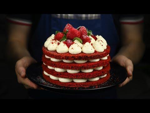 ТОРТ КРАСНЫЙ БАРХАТ НА ЛЮБОЙ ПРАЗДНИК Red Velvet cake