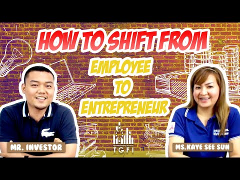 How To Shift From Employee To Entrepreneur