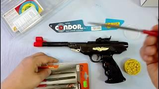 Modificare la canna di una vera pistola Condor giocattolo a pallini di gomma