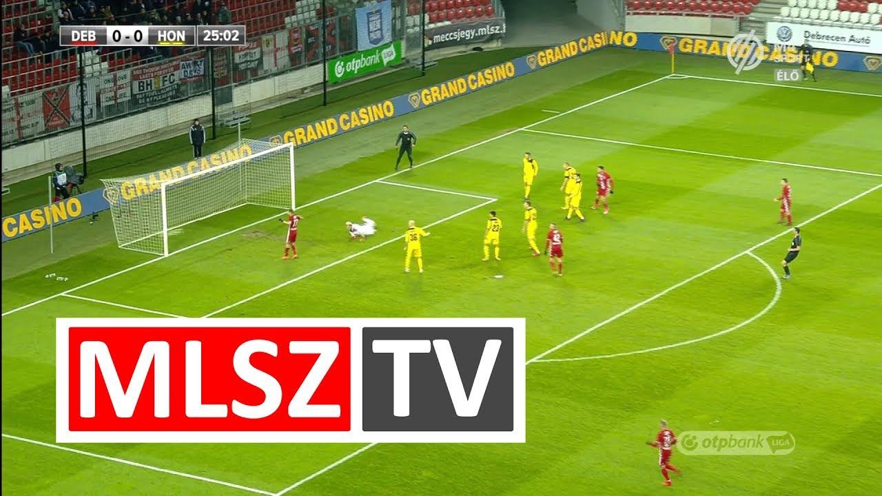 Takács Tamás gólja a DVSC - Budapest Honvéd mérkőzésen