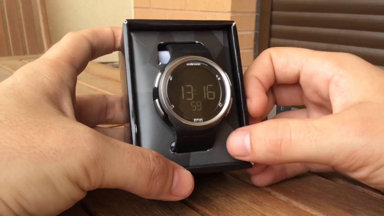 venta caliente online 6d784 306ad UNBOXING reloj Geonaute W900 M SWIP Decathlon