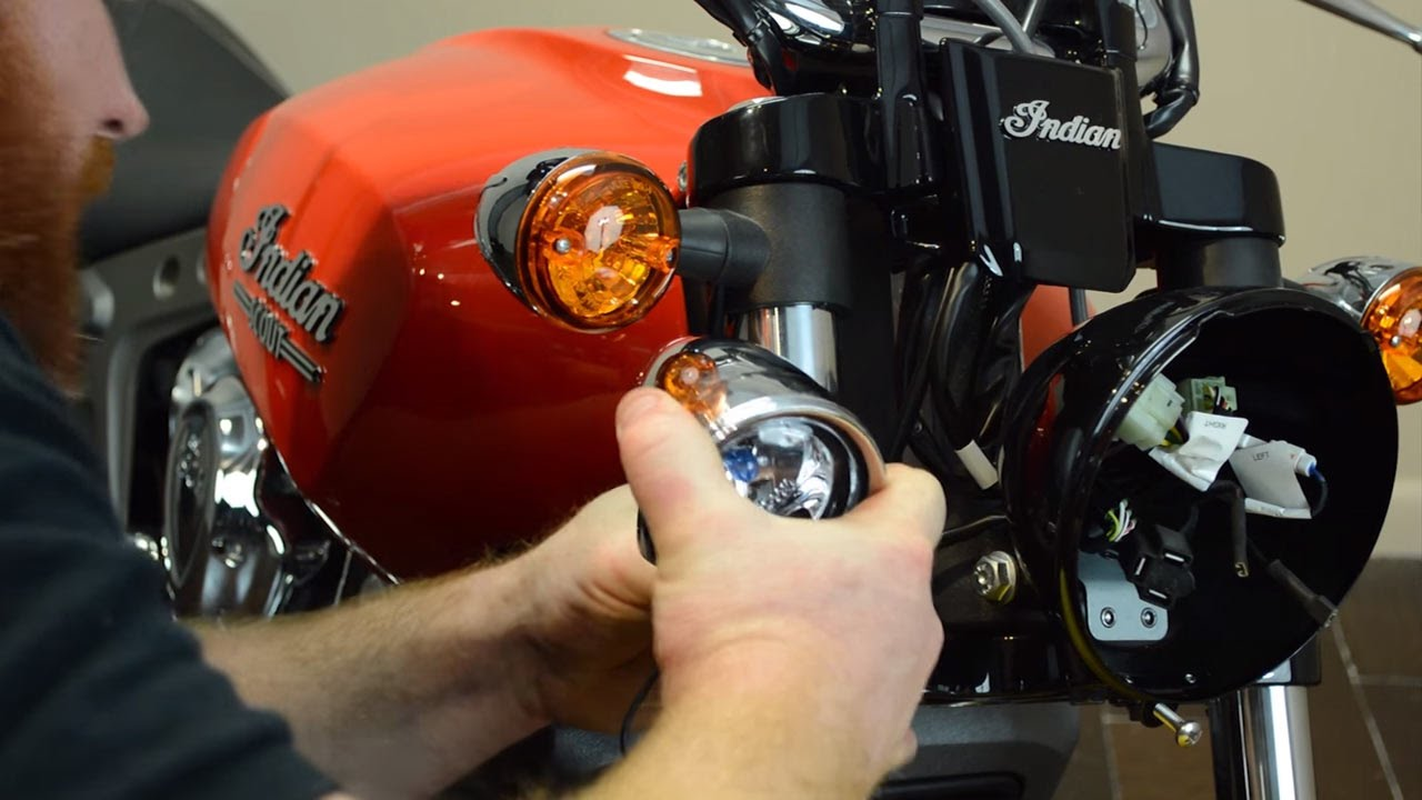2016 Indian Scout Project: Episode 5 - Kuryakyn Driving Lights ...