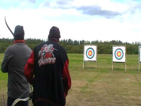 Kevin And David Shooting In Sydney Olympic  Park  Archery Centre Part 1