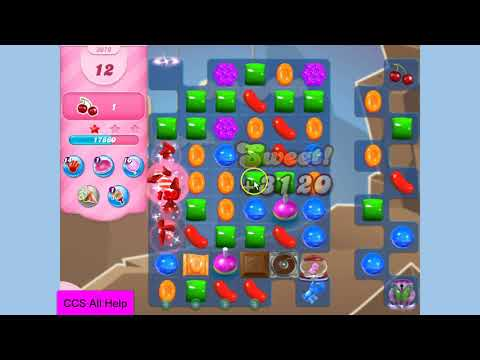 Candy Crush Saga Level 3070 NO BOOSTERS Cookie