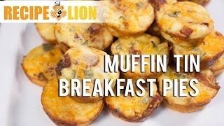 Easy Breakfast Recipe: Muffin Tin Breakfast Pies