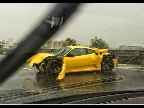 Ferrari Zizan Razak Kemalangan?