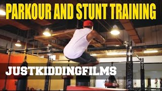 Parkour and Stunt Training Thumbnail