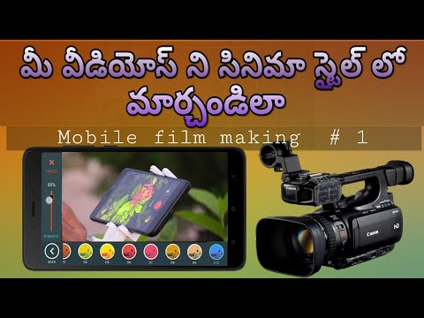 How to Edit Your Videos in Cinematic Style? | Mobile Movie Making | Technology | Tech Siva