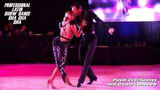 Pavel Zvychaynyy - Oxana Lebedew I Professional Showdance Cha Cha Cha I Windy City Open 2019