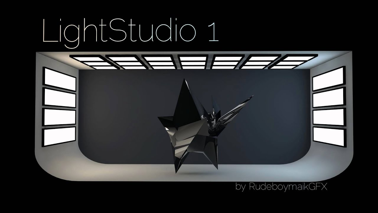 Light Studio Free C4d By Rudeboymaikgfx Youtube