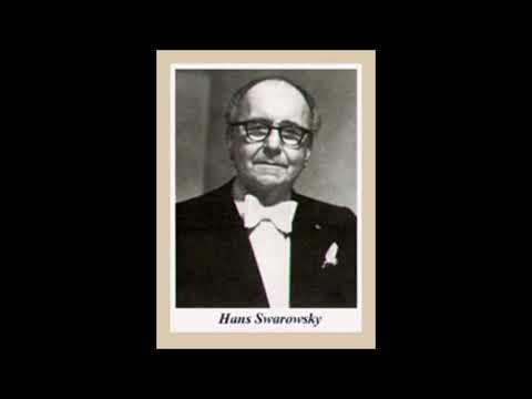 "Mahler ""Symphony No 3"" Hans Swarowsky"