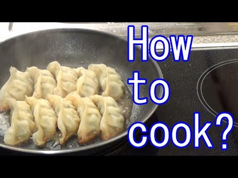 perfect-frozen-gyoza-dumpling,-easy-lunch,-餃子-味の素
