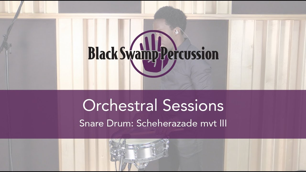 Snare Drum Orchestral Sessions