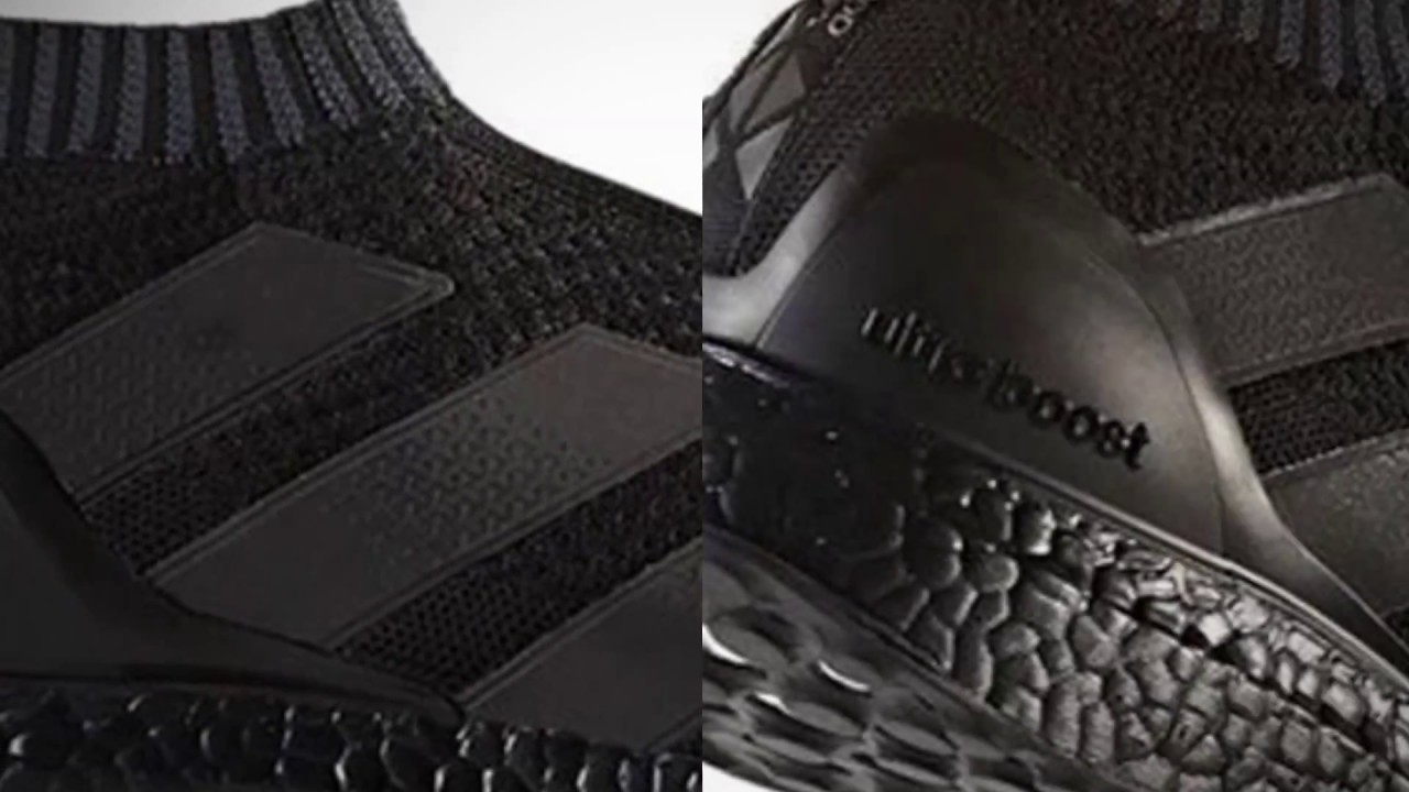 finest selection 2897f fabaf ADIDAS ACE 16+ ULTRA BOOST (TRIPLE BLACK). Sneaker Freaker 2016