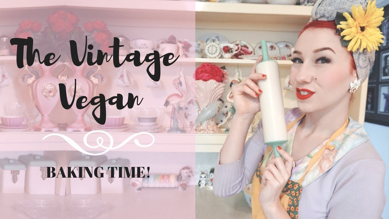 Download Vintage Vegan Baking with pinup Miss Lady Lace