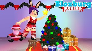 DECORATING FOR CHRISTMAS - BLOXBURG - ROBLOX