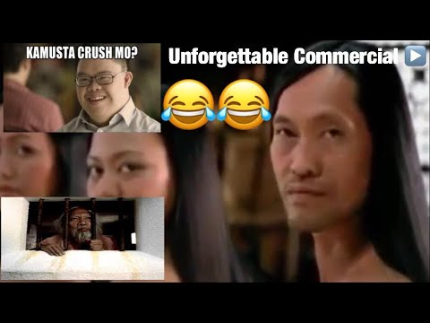 UNFORGETTABLE FILIPINO COMMERCIALS ( 1960's - 2000 COMPILATION)
