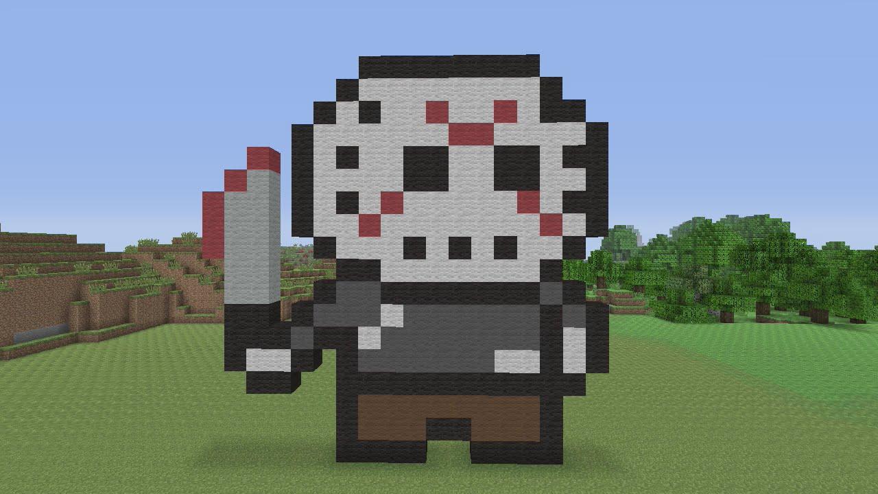 Minecraft Pixel Art Tutorial And Showcase Darth Vader