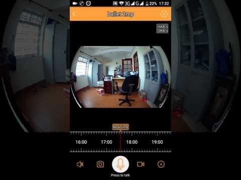 VR 3D camera Video test