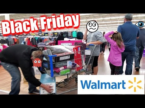 WE Went BLACK FRIDAY SHOPPING WALMART 2019