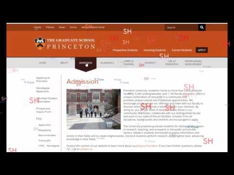 The Graduate School PRINCETON (Part-2)