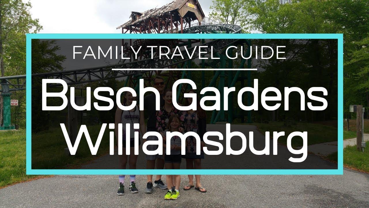 Busch Gardens Williamsburg - Full Park Tour, Behind the Scenes ...