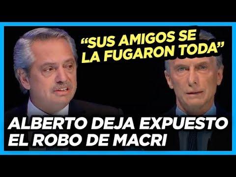 ALBERTO IMBATIBLE deja expuesto el robo de Macri y desmiente sus canalladas