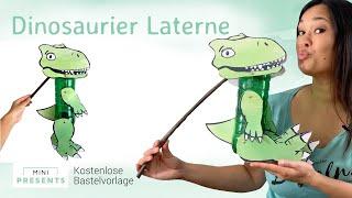 Laternen Bastelset Dino Komplett Set Laterne