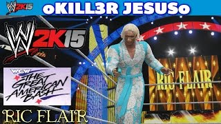 WWE 2K15 PS4 / XBOX ONE - Ric Flair Entrance WCW Great American Bash 1990 I CAW