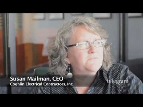 Susan Mailman, Coghlin Electrical Contractors and Coghlin Network Services