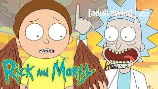 """Put 'Em Way Up Inside There"" Rick Takes Morty on His First Adventure 
