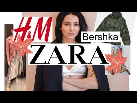 ШОППИНГ ! | ZARA | H&M | BERSHKA | С ПРИМЕРКОЙ | НОВЫЕ КОЛЛЕКЦИИ| и немного MASSIMO DUTTI