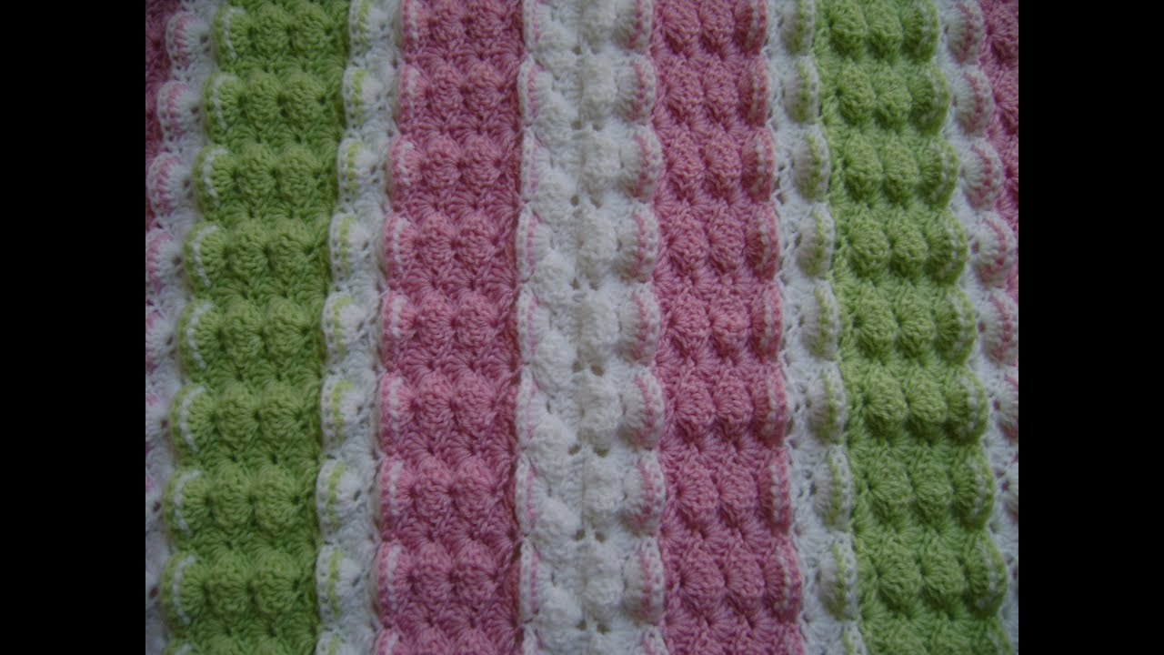 Crochet a Shell with Front Post Cluster Stitch - YouTube