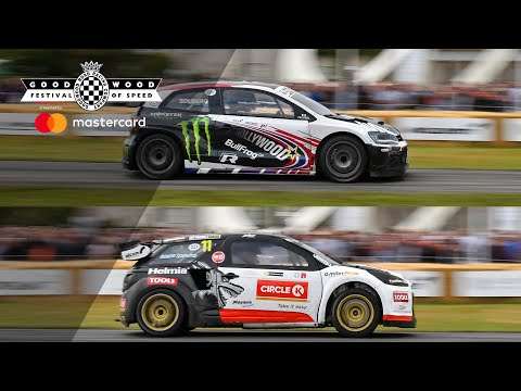 Petter v Oliver Solberg | FOS hillclimb shootout side-by-side